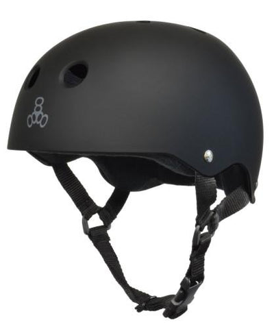 TRIPLE 8 The Certified Helmet SS Rubber