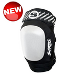 SMITH SCABS ELITE II Kneepad Black w/ White Caps