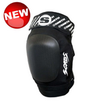 SMITH SCABS ELITE II Kneepad Black w/ Black Caps