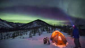 The Aurora Borealis dancing over the White Mountains of Alaska.Bob Wick/BLM