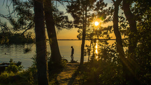 Sunset at Voyageurs National Park. Jeffrey Kantor