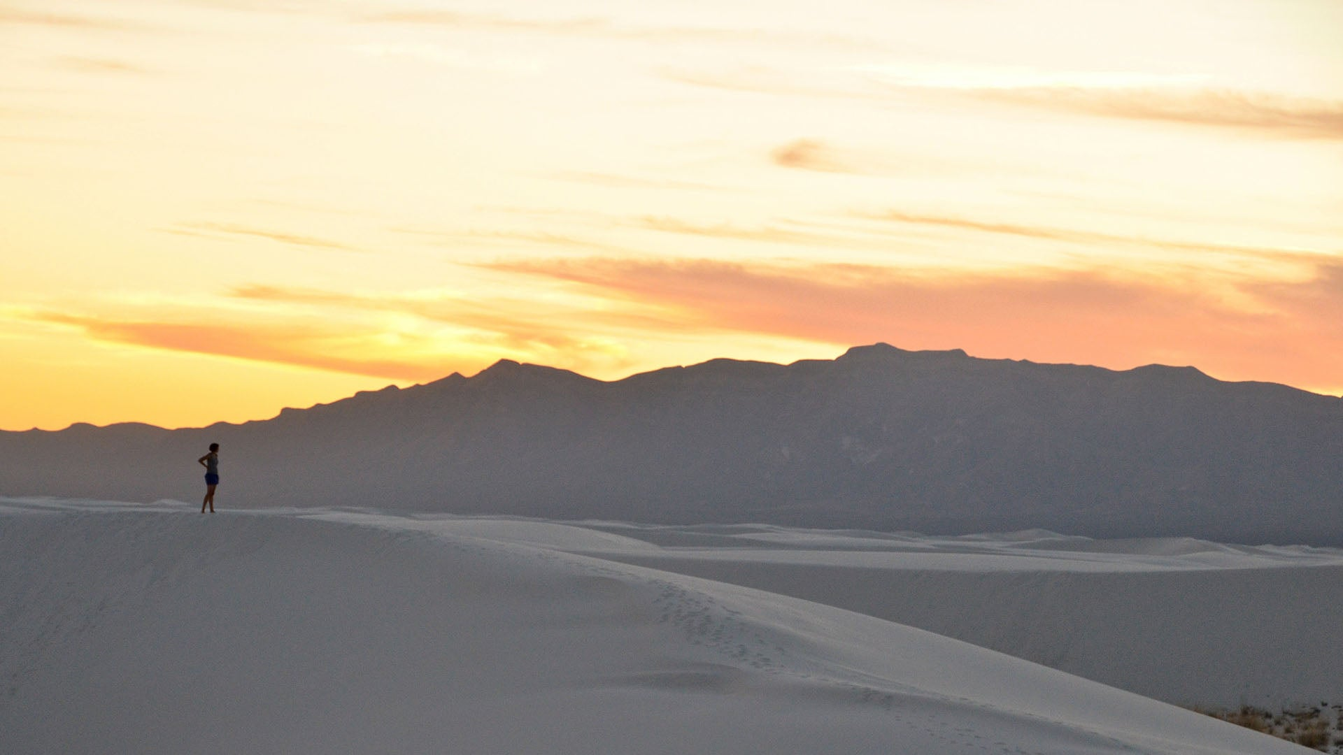 Finding solitude in New Mexico's White Sands National Monument.iris