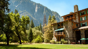 In-park hotels like the Majestic Yosemite Hotel at Yosemite National Park add an element of luxury to any outdoor adventure