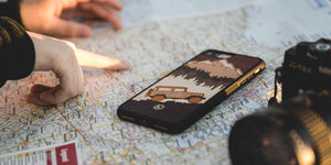 Off Road Wood iPhone Case for the iPhone 7 Plus by Keyway