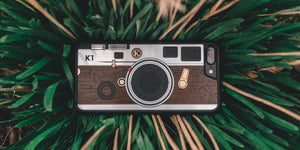 Model K1 Wood iPhone Case for the iPhone 7 Plus by Keyway