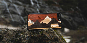 Cross Country Wood iPhone Case for the iPhone 7 Plus by Keyway