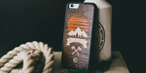 Wilderness Wood iPhone Case for the iPhone 6 by Keyway