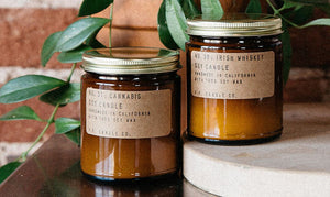 Collection of Keyway's handmade Soy Candles from PF Candle Co.