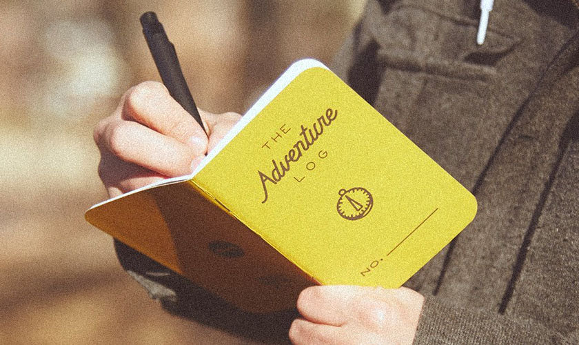 Keep notes about all your adventure in our selection of Notebooks.