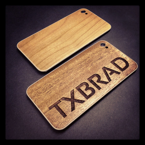 Custom TXBRAD review unit of the iPhone 4S BackBoard