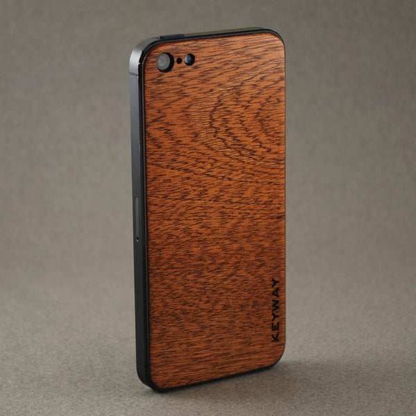 wood iPhone Adhesive Back, Sipo