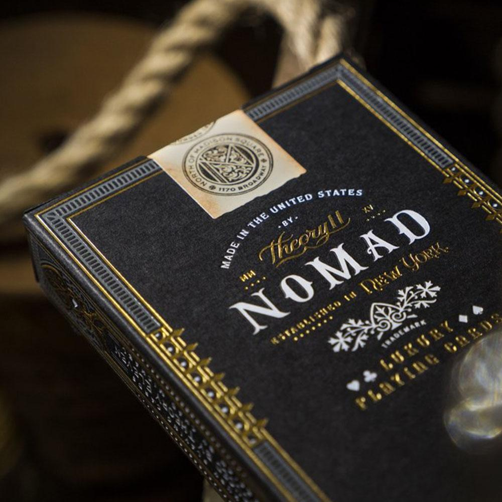KEYWAY | Theory 11 - NoMad Premium Playing Cards Close up of Embossing