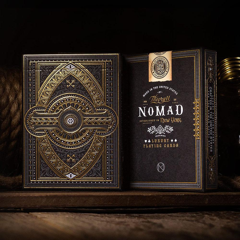 KEYWAY | Theory 11 - NoMad Premium Playing Cards Front and Back of Card Box