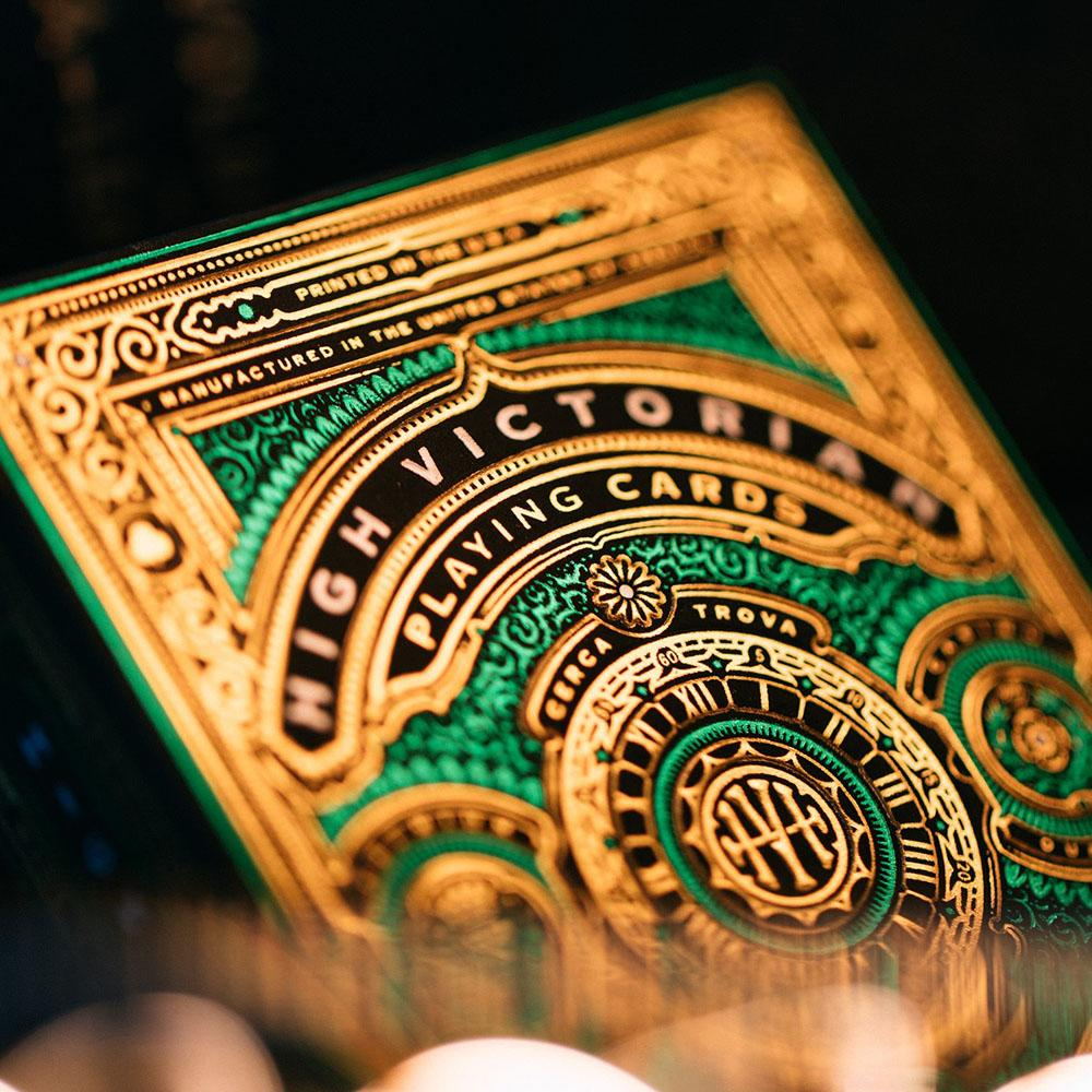 KEYWAY | Theory 11 - High Victorian Premium Playing Cards Close up of Front Print