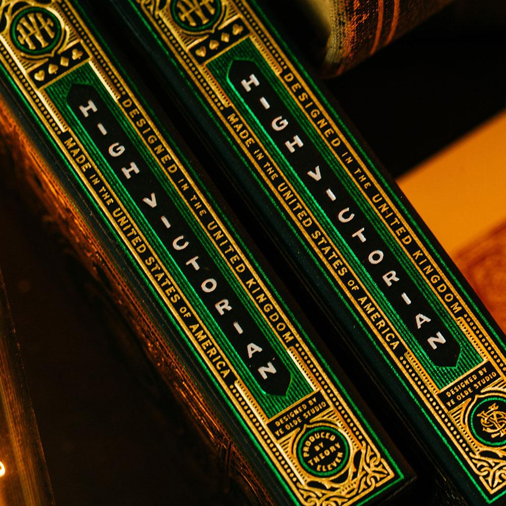 KEYWAY | Theory 11 - High Victorian Premium Playing Cards Box Sides close up
