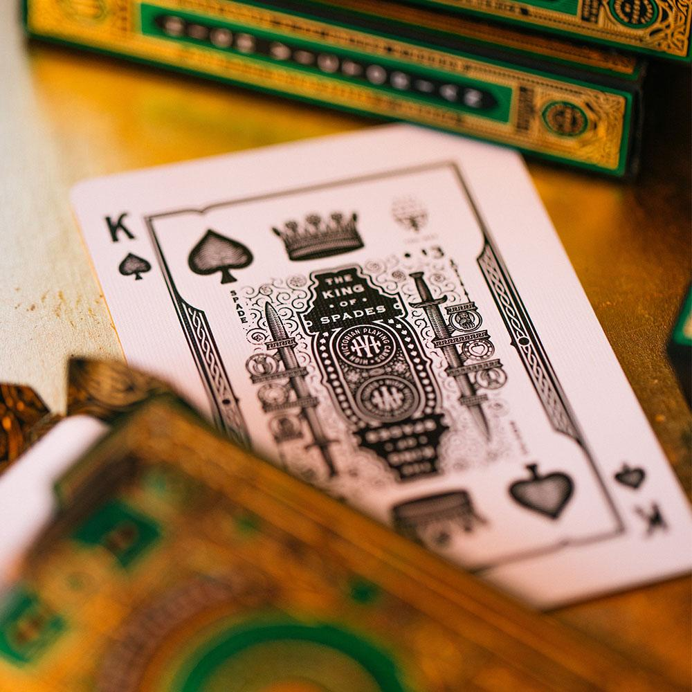 KEYWAY | Theory 11 - High Victorian Premium Playing Cards Unique King of Spades