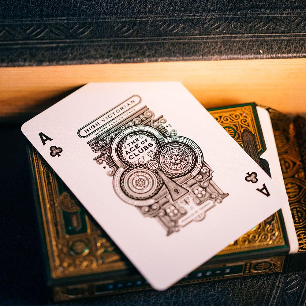KEYWAY | Theory 11 - High Victorian Premium Playing Cards Unique Ace of Clubs
