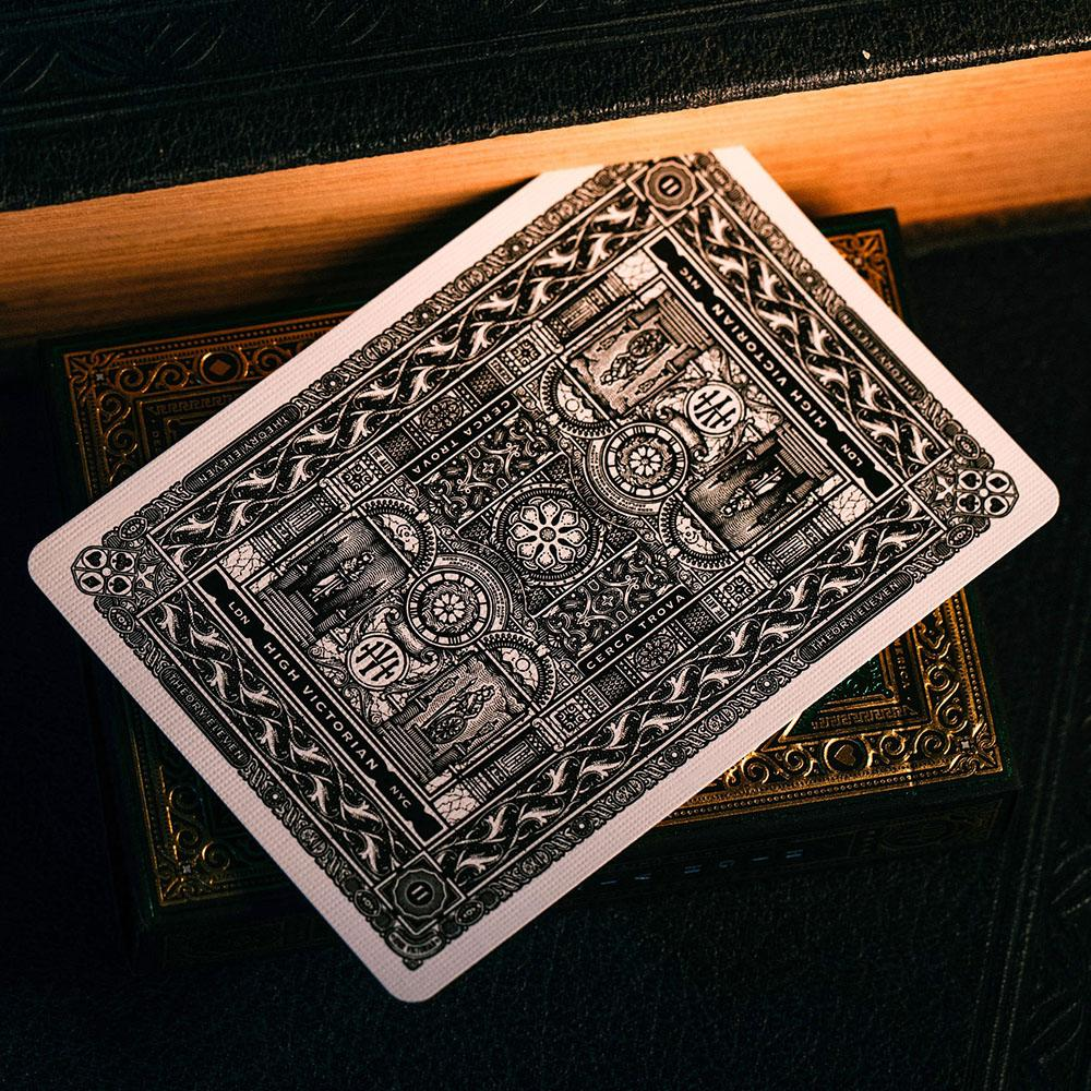 KEYWAY | Theory 11 - High Victorian Premium Playing Cards Detailed Back of Card Print
