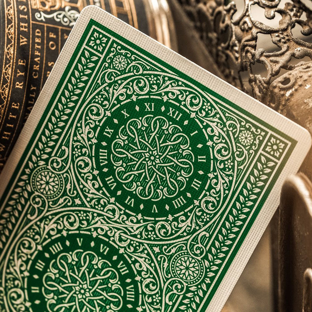 KEYWAY | Theory 11 - Green Tycoon Premium Playing Cards Detailed Card Print
