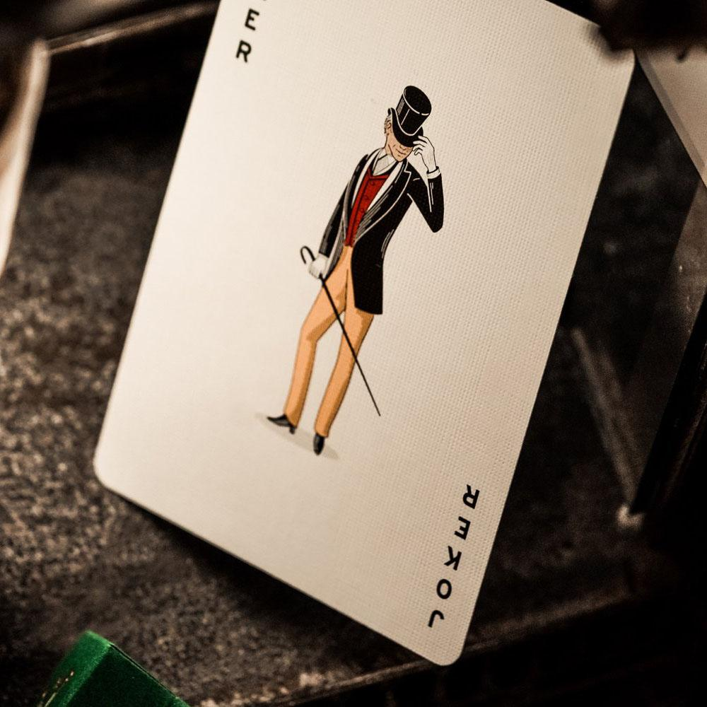 KEYWAY | Theory 11 - Green Tycoon Premium Playing Cards Unique Joker