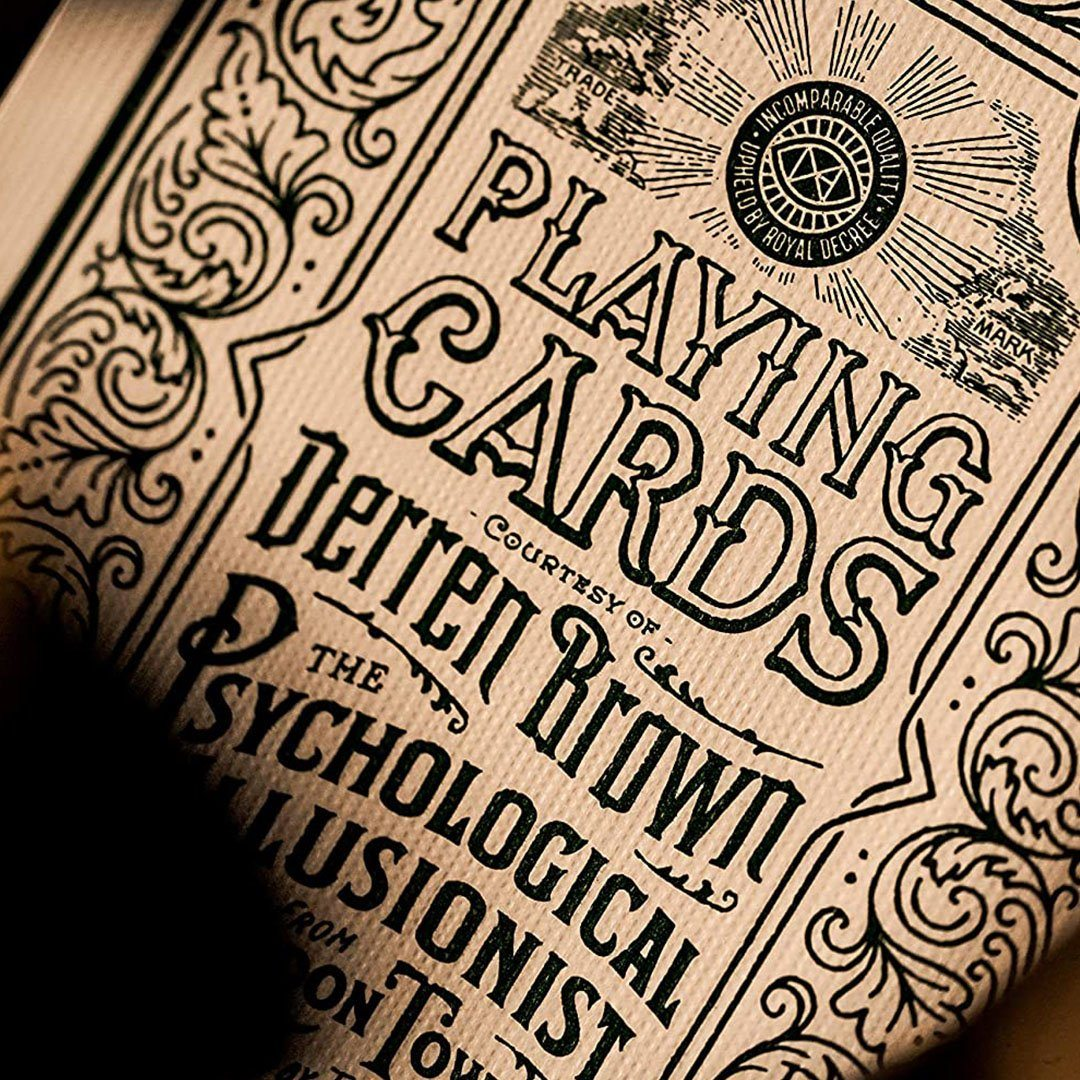 KEYWAY | Theory 11 - Derren Brown Premium Playing Cards detailed card print