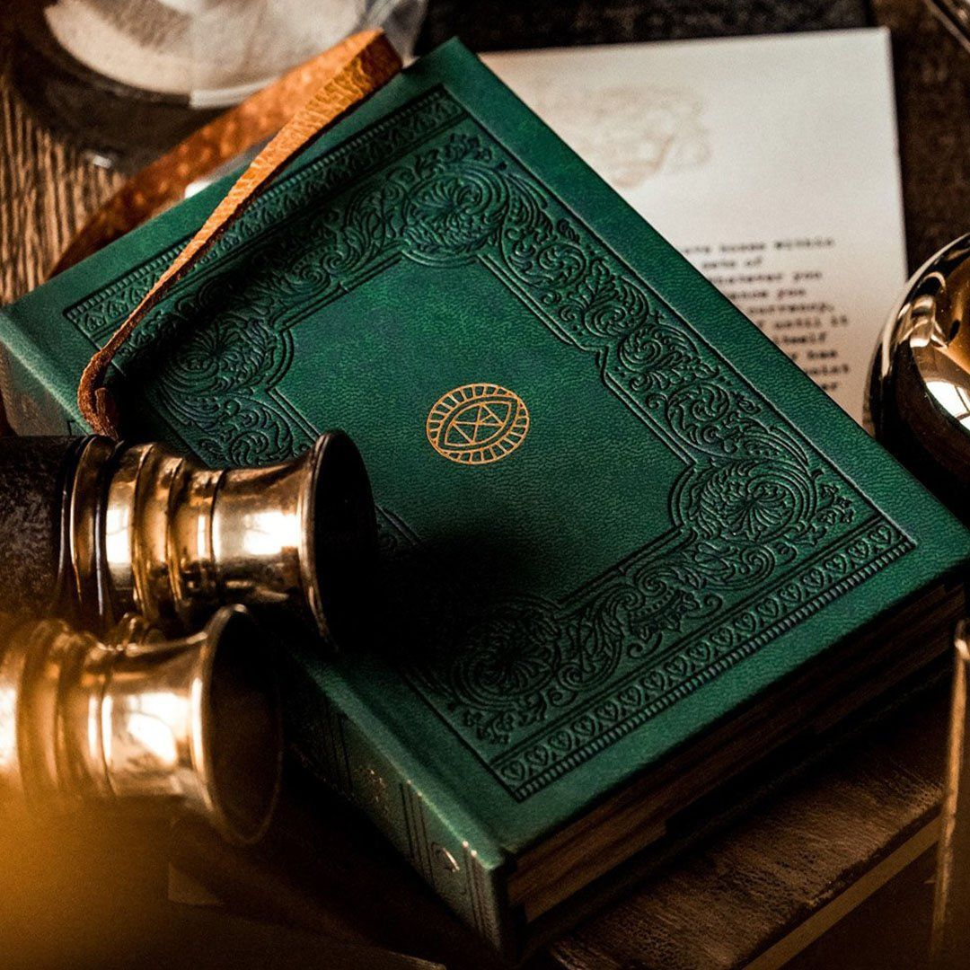 KEYWAY | Theory 11 - Derren Brown Premium Playing Cards Designed like a leather-bound book