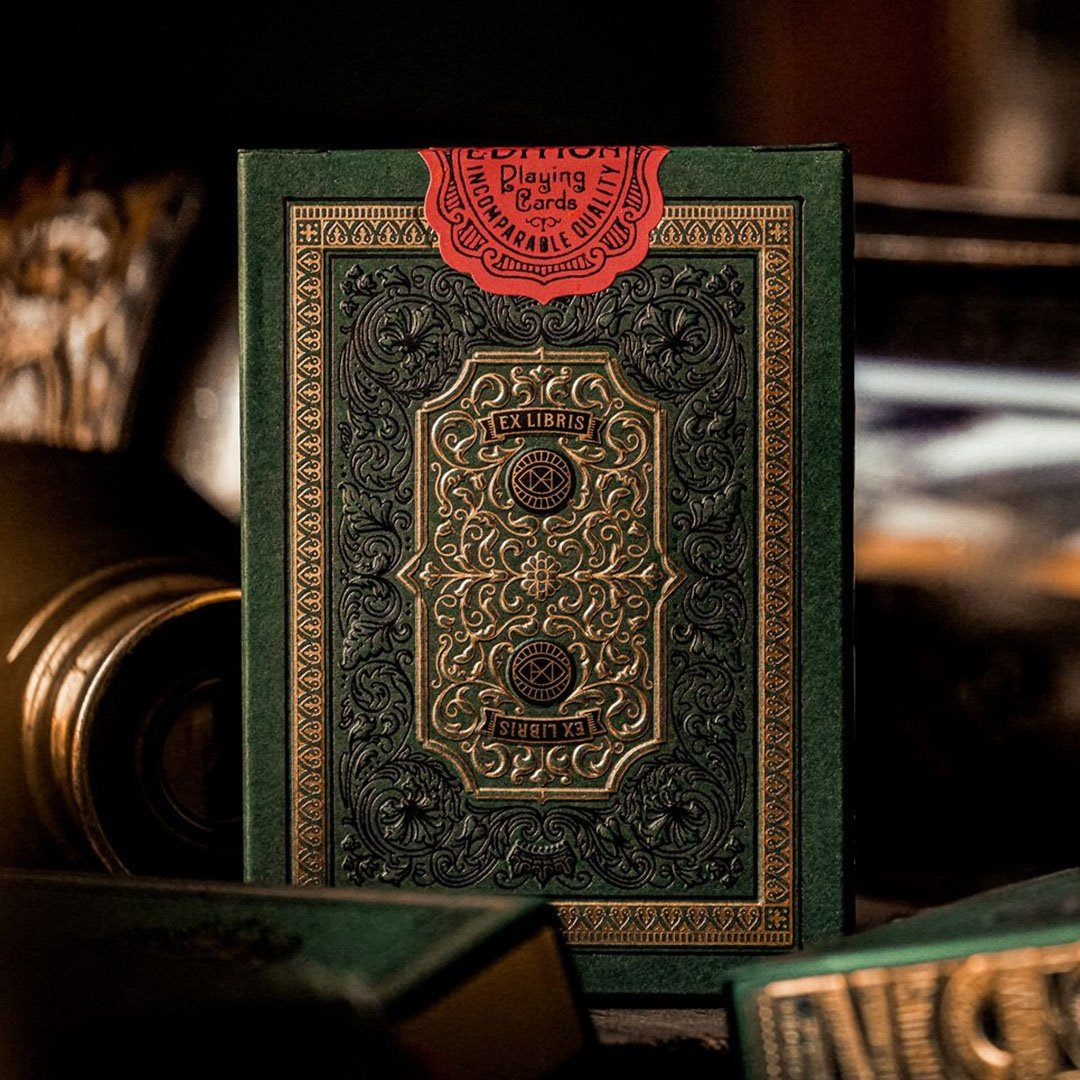 KEYWAY | Theory 11 - Derren Brown Premium Playing Cards Extremely detailed card box printing and embossing