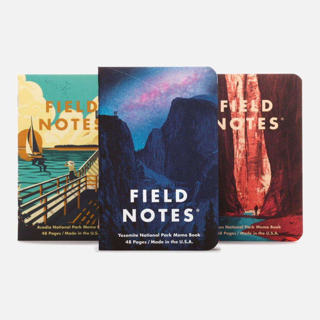 Field Notes - National Parks Series A Group