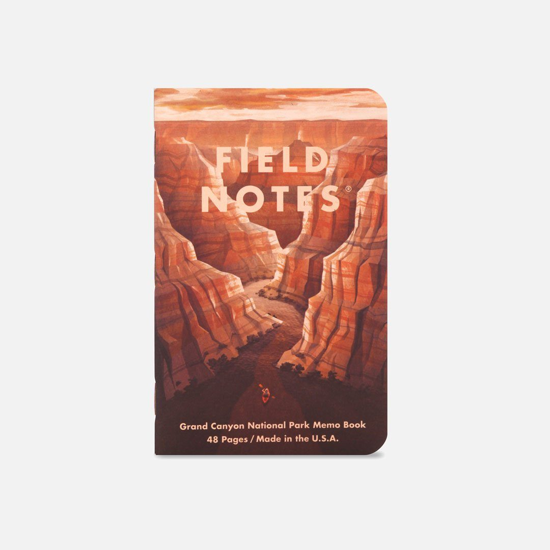 Field Notes - National Parks Series B, Number 1, Front Cover