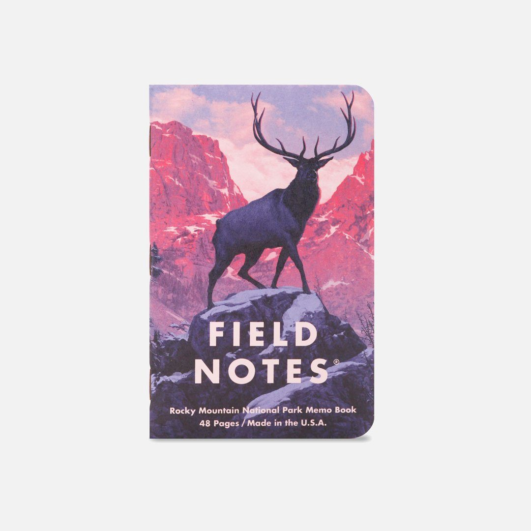 Field Notes - National Parks Series C, Number 1, Front Cover