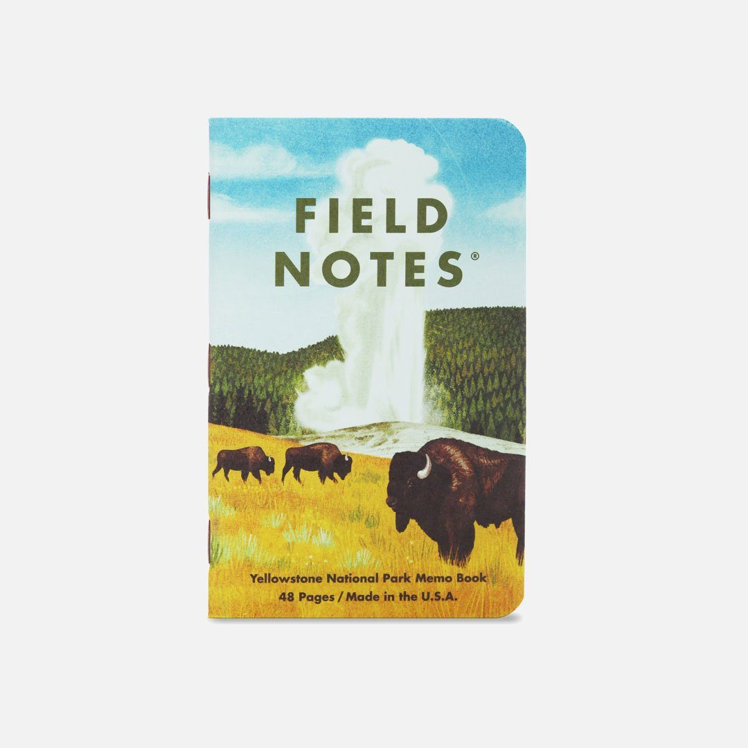 Field Notes - National Parks Series C, Number 3, Front Cover