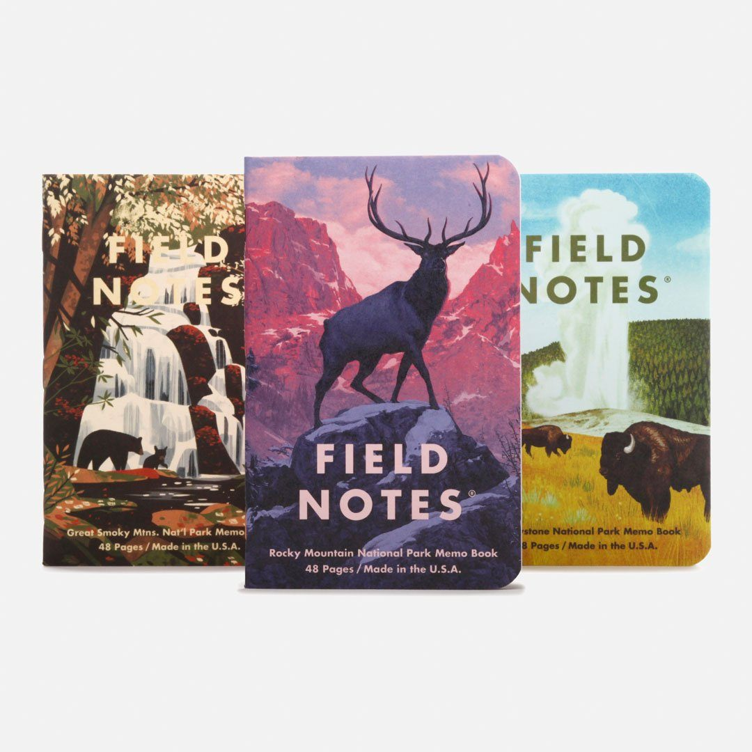 Field Notes - National Parks Series C Group