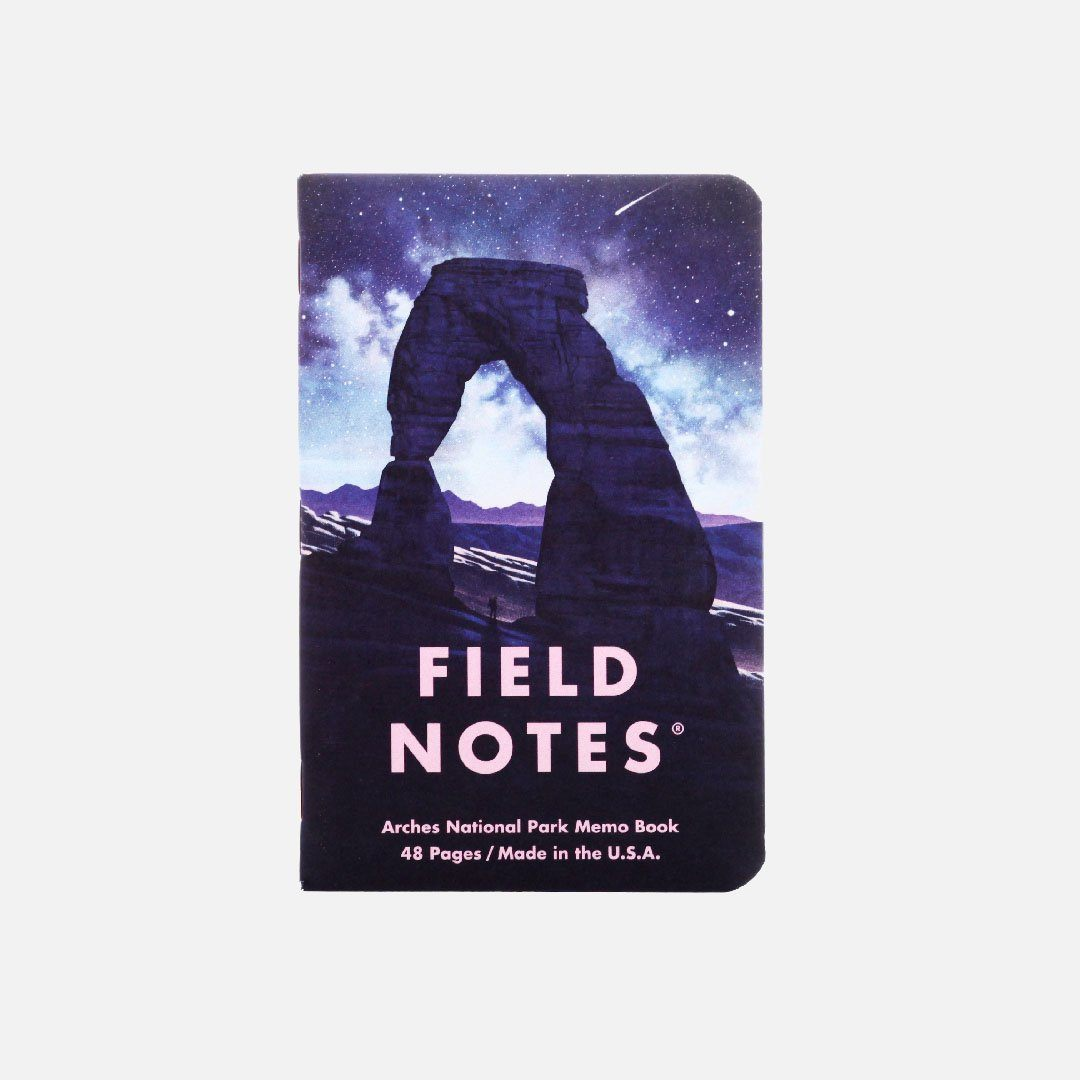 Field Notes - National Parks Series D, Number 3, Front Cover