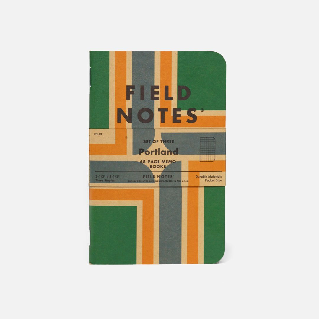 Field Notes - Portland, USA Made Pocket Notebook, Front View