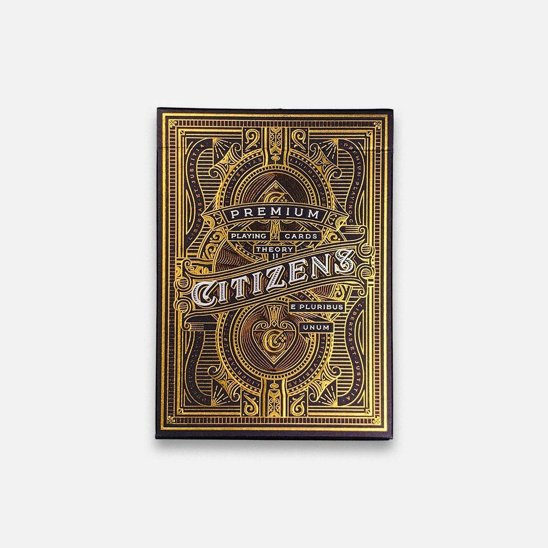 KEYWAY | Theory 11 - Citizen Premium Playing Cards Flat Front View