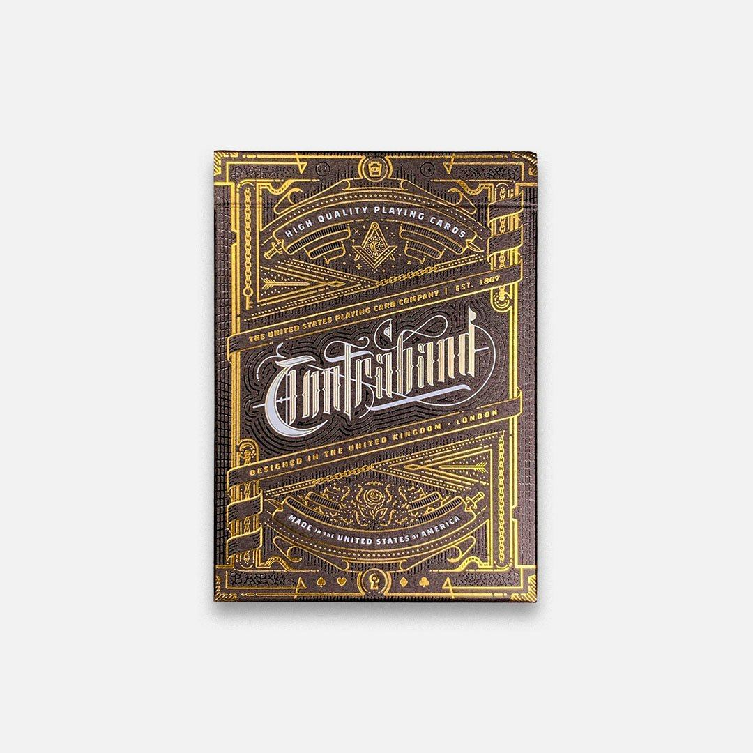 KEYWAY | Theory 11 - Contraband Premium Playing Cards Flat Front View