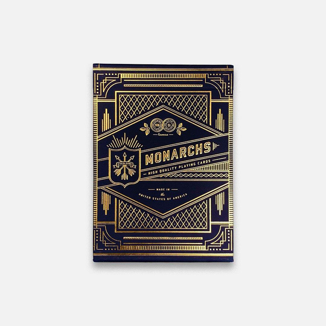 KEYWAY | Theory 11 - Monarchs Premium Playing Cards Flat Front View