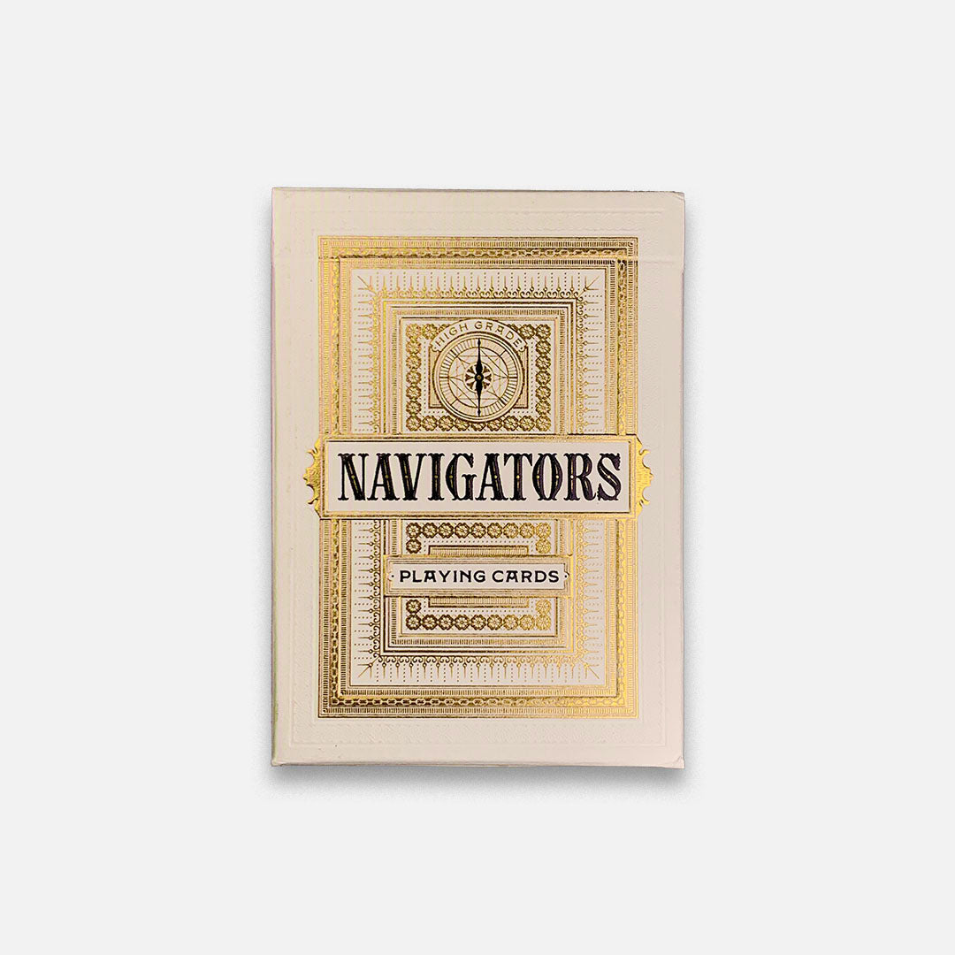 KEYWAY | Theory 11 - Navigators Premium Playing Cards Flat Front View