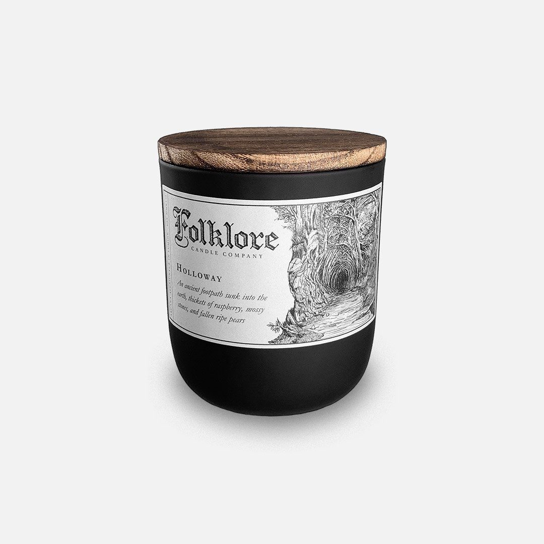 Folklore Candle - Holloway Soy Wax Jar Candle Header Shot