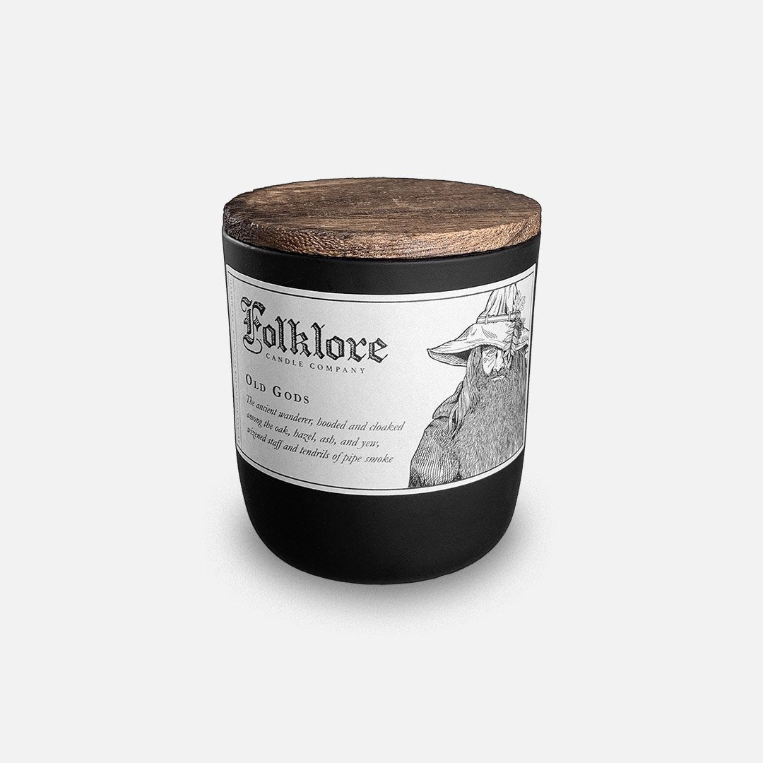 Folklore Candle - Old Gods Soy Wax Jar Candle Header Shot