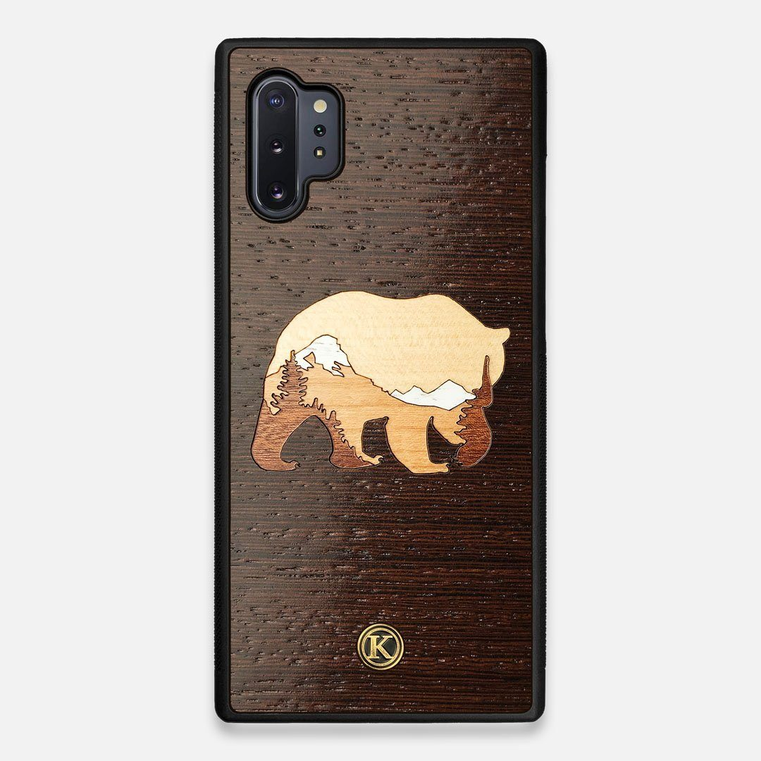 TPU/PC Sides of the Bear Mountain Wood Galaxy Note 10 Plus Case by Keyway Designs