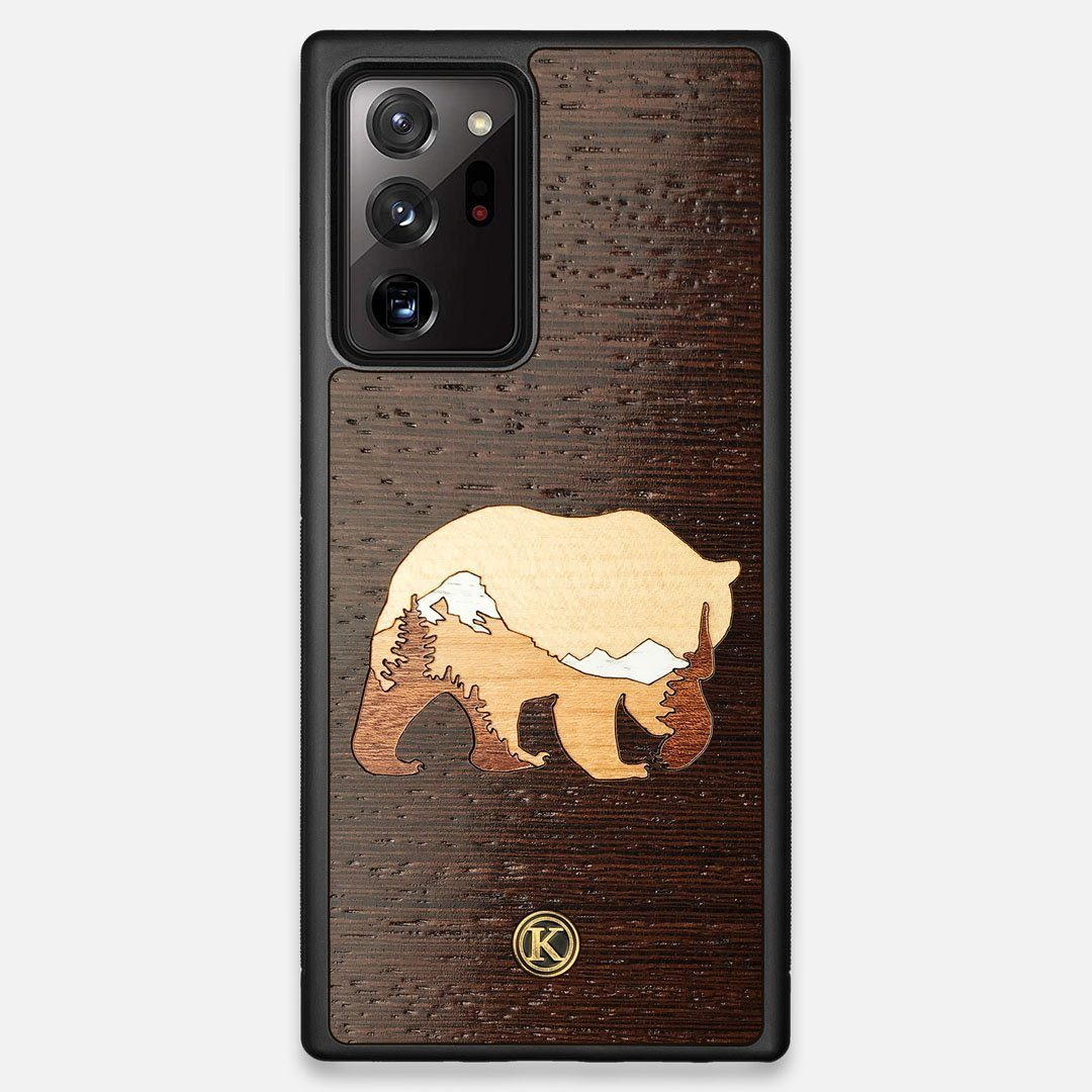 TPU/PC Sides of the Bear Mountain Wood Galaxy Note 20 Ultra Case by Keyway Designs