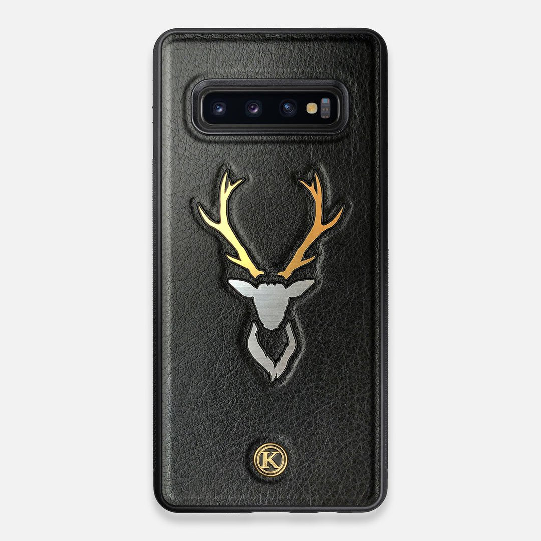Front view of the Wilderness Wenge Wood Galaxy S10+ Case by Keyway Designs
