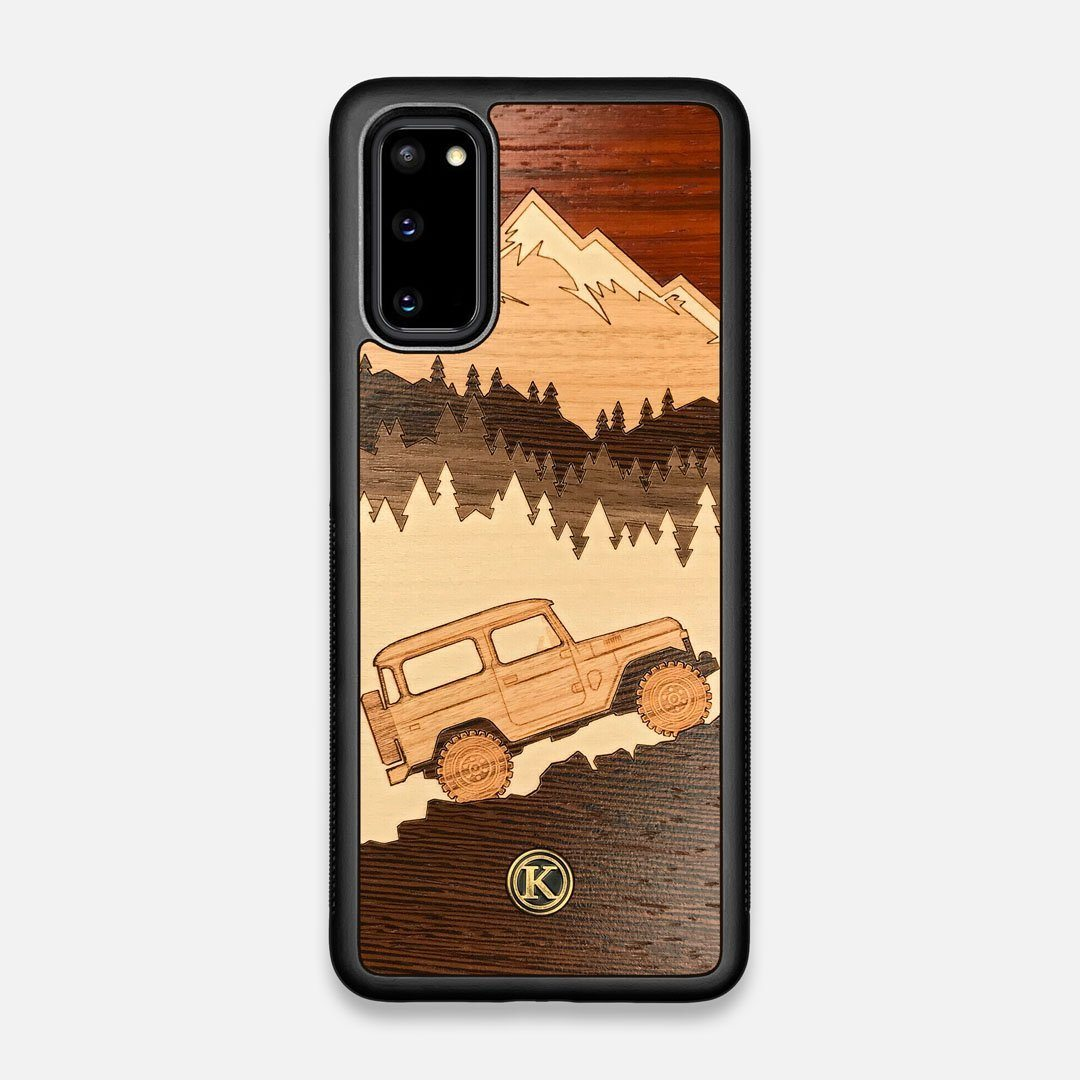 TPU/PC Sides of the Off-Road Wood Galaxy S20 Case by Keyway Designs