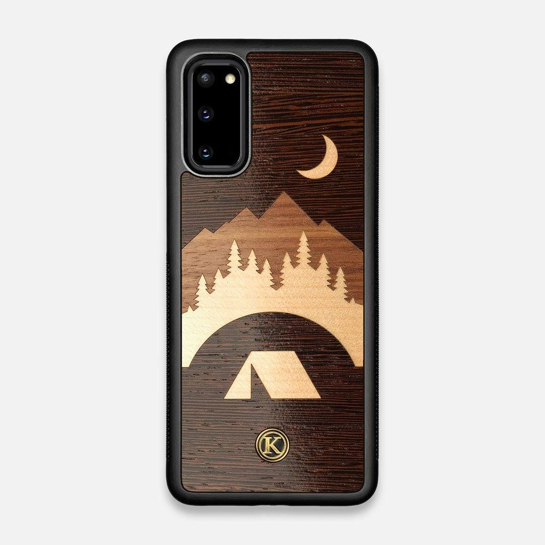 Front view of the Wilderness Wenge Wood Galaxy S20 Case by Keyway Designs