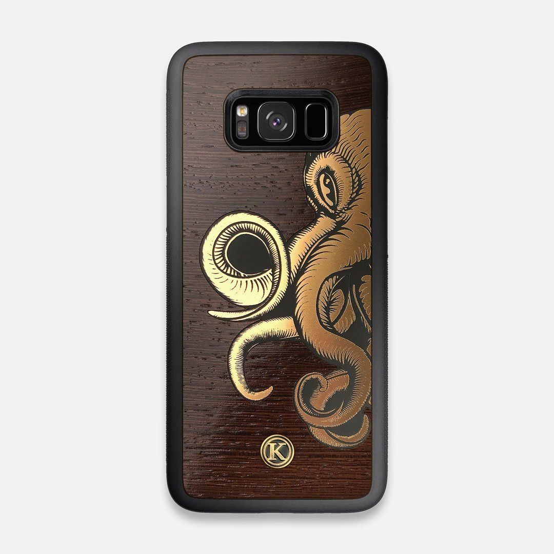 TPU/PC Sides of the classic Camera, silver metallic and wood Galaxy S8 Case by Keyway Designs