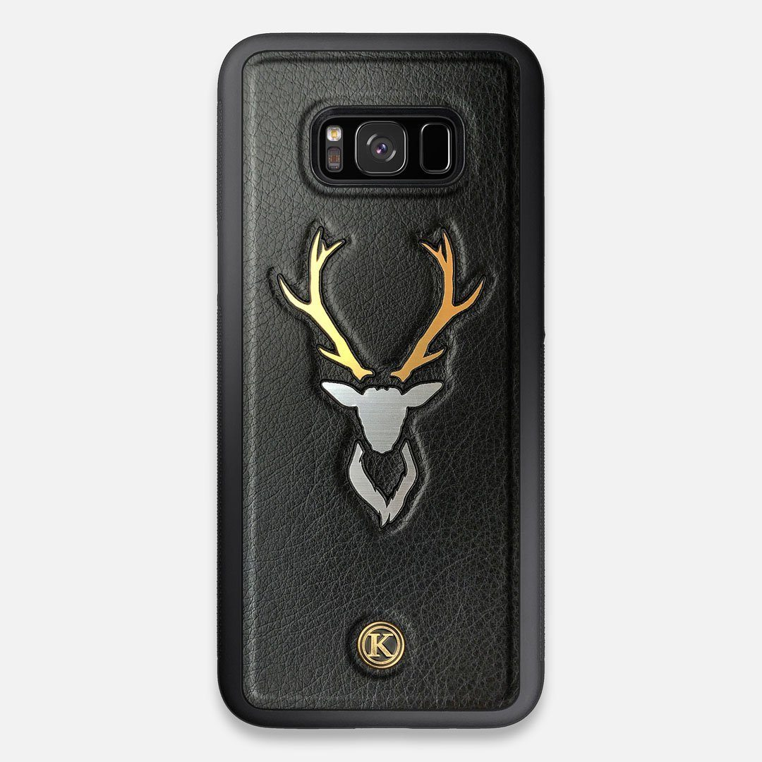 Front view of the Wilderness Wenge Wood Galaxy S8+ Case by Keyway Designs