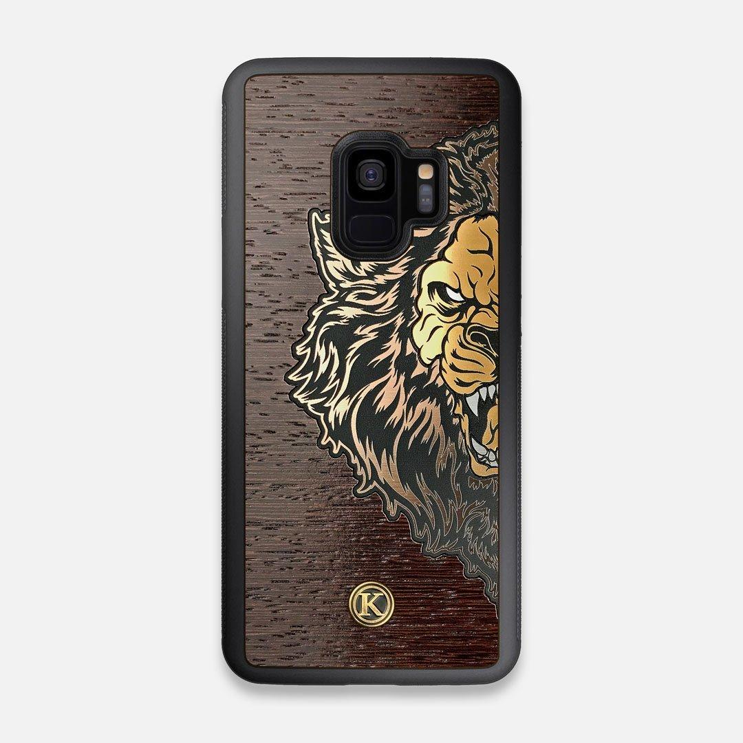 TPU/PC Sides of the classic Camera, silver metallic and wood Galaxy S9 Case by Keyway Designs