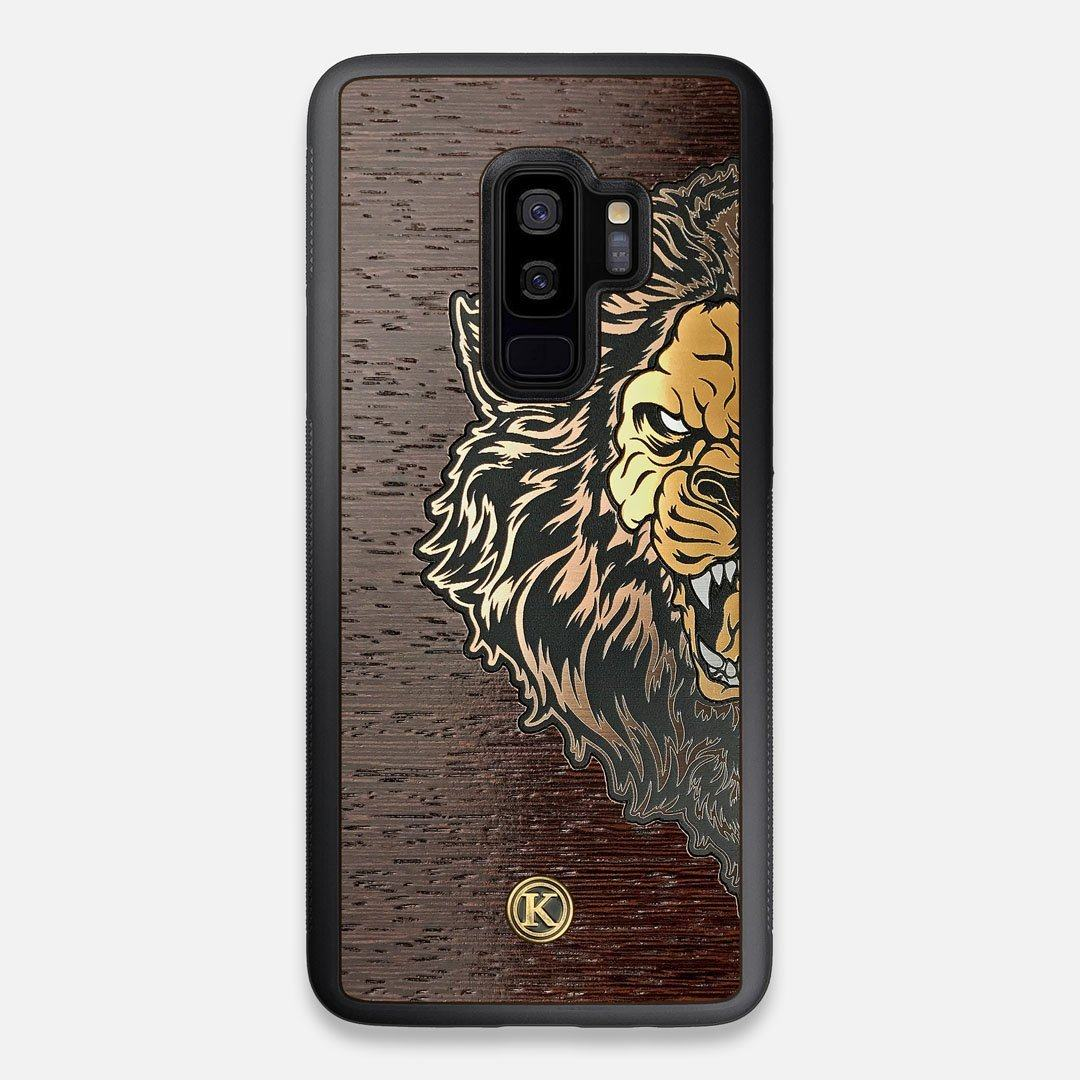 TPU/PC Sides of the classic Camera, silver metallic and wood Galaxy S9+ Case by Keyway Designs
