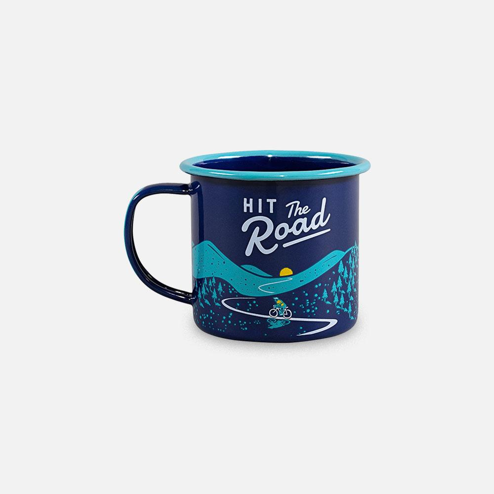 Wild+Wolf - Hit the Road Mug back view